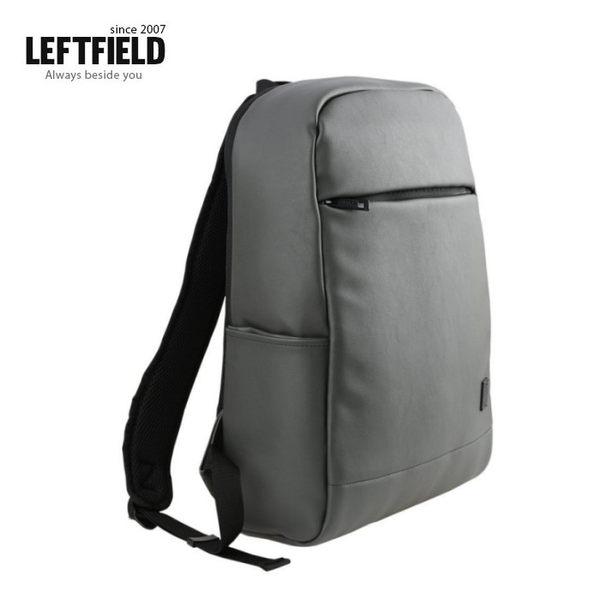 【韓國直送】後背包 正韓 LEFTFIELD 大容量皮革背包 書包 電腦包 NO.729