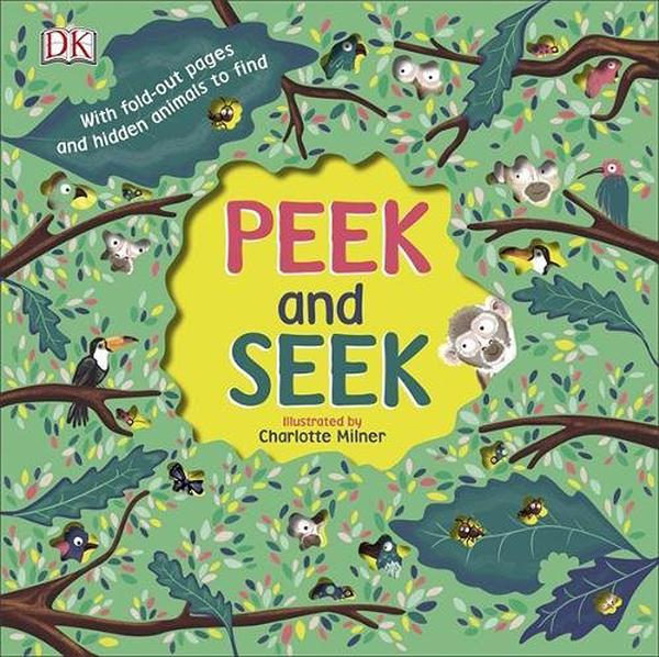 【認識春天】PEEK AND SEEK /厚紙精裝書《主題: 春天.大自然.集合名詞》
