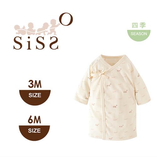 【SISSO有機棉】SISSO SISSO柔棉嬰兒肚衣3M 6M