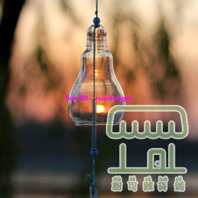 日式玻璃風鈴櫻花透明古風掛件飾品鈴鐺【樹可雜貨鋪】