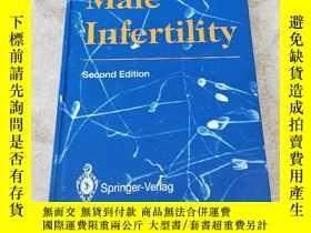 二手書博民逛書店Male罕見infertilityY242183