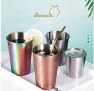 ●魅力十足● SkinApple 不鏽鋼旅行露營隨身杯(500ml)