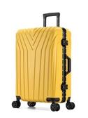 行李箱行李箱ins網紅女拉桿箱學生旅行箱萬向輪密碼皮箱子小20寸鋁框男 貝芙莉LX