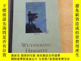 二手書博民逛書店WUTHERING罕見HEIGHTS(精裝本)英文原版23470