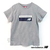 New Balance 童裝 2019新款 灰色 LOGO T恤 短T 童衣 NO.H2546