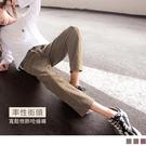《BA5848-》純色高含棉修身鬆緊腰綁...