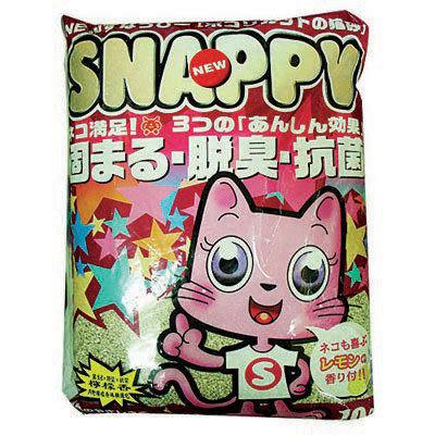 【 ZOO寵物樂園 】SNAPPY貓砂(粗砂/細砂) 10L*3包  (超級免運價)
