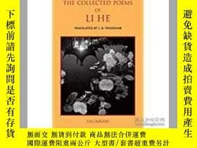 二手書博民逛書店The罕見Collected Poems of Li He(《李
