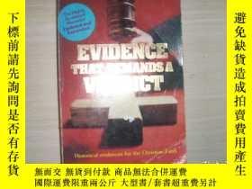二手書博民逛書店EVIDENCE罕見THAT DEMANDS A VERDICT【153】需要判決的證據Y10970 Josh