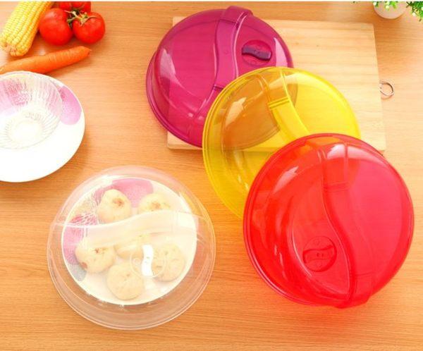 冰箱保鮮蓋密封蓋食物罩防油蓋圓形(透明) 39元