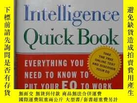 二手書博民逛書店英文原版罕見The Emotional Intelligence