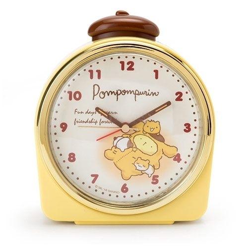 【震撼精品百貨】Pom Pom Purin 布丁狗~Sanrio 布丁狗暖暖夜未央系列鬧鐘#14340