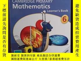 二手書博民逛書店Cambridge罕見Primary Mathematics Stage 6 Learners BookY12