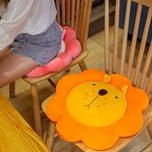 榻榻米坐墊 可愛圓形坐墊可坐地墊椅子墊辦公室久坐榻榻米加厚屁股墊學生宿舍【幸福小屋】