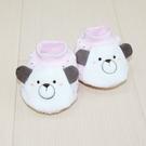 GMP BABY 舒適點點棉造型腳套-粉紅色2雙