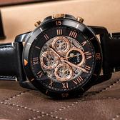 FOSSIL 羅馬假期時尚機械錶 ME3138 熱賣中!