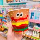 日本 漢堡薯條 BURGER CONX 漢堡水杯 透明杯 水杯 杯子 美耐皿水杯 290ml COCOS PP049