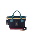 PORTER - LUXY 手提包 (XS) - 芥末黃-深藍色
