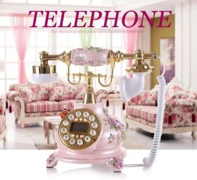 歐式電話復古旋轉撥號轉盤【藍星居家】