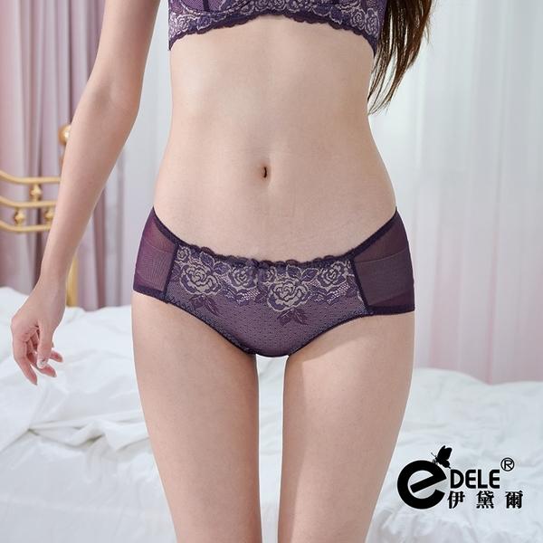 愛在維也納蕾絲內褲 M-L (紫紅) - 伊黛爾