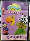 挖寶二手片-B06-026-正版DVD-動畫【和天線寶寶學英文:大小篇】-(直購價)