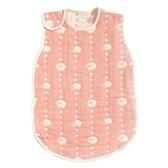 Hoppetta 日本製六層紗防踢被背心(L)-綿羊粉 2-7歲 | 寢具用品(嬰幼兒/寶寶/小孩/兒童)
