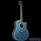單板41寸成人民謠初學者男女生新手網紅自學生用38寸吉它樂器 【毛菇小象】
