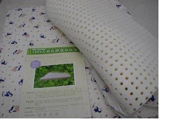 *粉粉寶貝玩具*精選透氣舒適~100%純天然嬰兒乳膠床墊~大床加厚款~60 * 90 *3.5公分