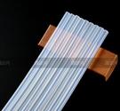 熱熔膠條 透明熱熔膠棒7mm膠槍高粘環保EVA強力溶膠條大小號熔膠搶條 【快速出貨八折搶購】