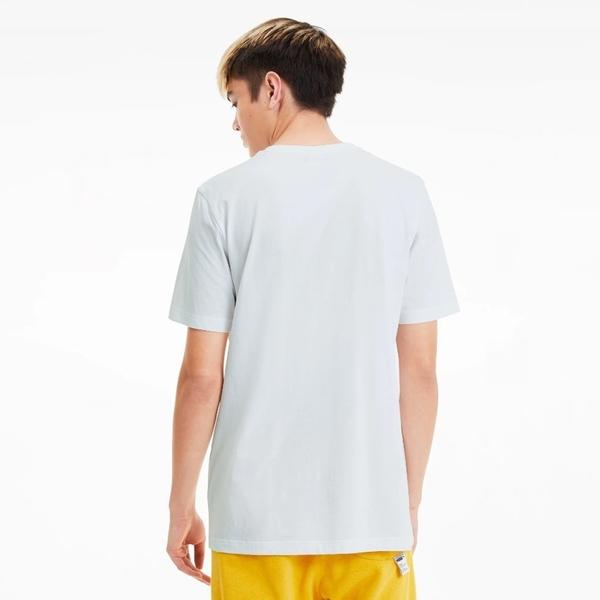 PUMA No.2 LOGO 白 胸口英文刺繡logo 短袖 (布魯克林) 59626502