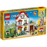 樂高積木LEGO 3合1創作系列 31069 家庭別墅