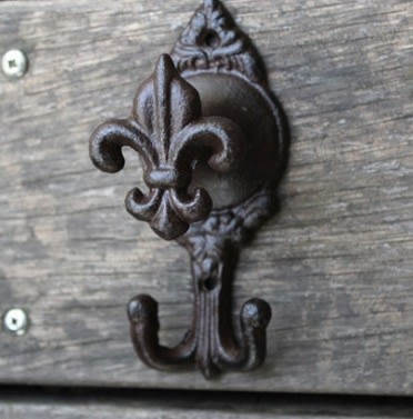 [協貿國際]復古鑄鐵鐵藝掛鉤衣帽掛鉤裝飾掛鉤2入