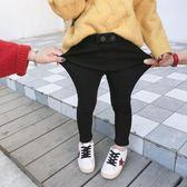 童褲 女童加絨加厚小腳褲冬季新款兒童保暖長褲女寶寶外穿打底褲子