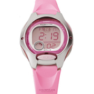 CASIO卡西歐 甜美粉嫩多功能休閒運動女腕錶童錶 十年電力系列【NE1804】原廠公司貨