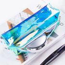 鐳射透明筆袋 零錢包 化妝包 小物收納 ...
