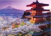 拼圖 2000片 日本富士山 益智玩具【聚寶屋】