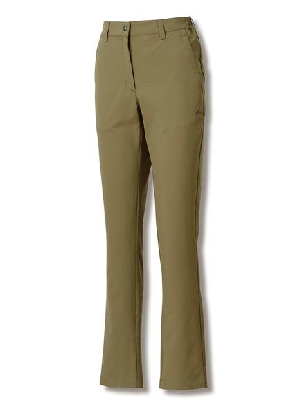 維特FIT 女款彈性吸排抗UV經典長褲 2801 橄欖綠 休閒褲 排汗褲 防曬 上班褲 OUTDOOR NICE