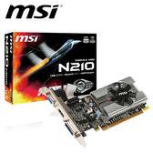 msi 微星 N210-MD1G/D3 顯示卡