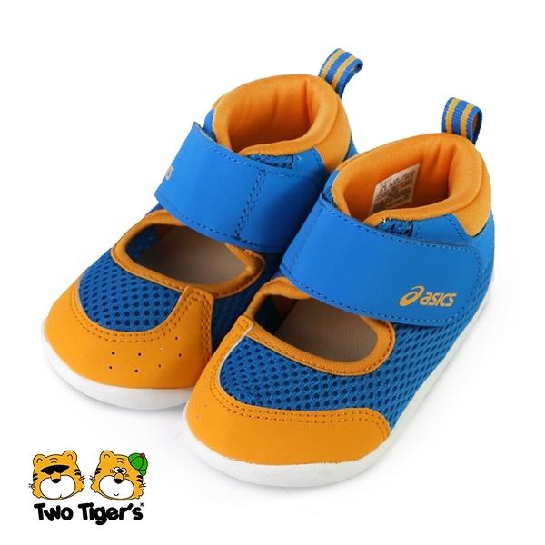 ASICS AMPHIBIAN FIRST 2 高筒 運動鞋 小童 黃藍 NO.R6778(TUS117-415)