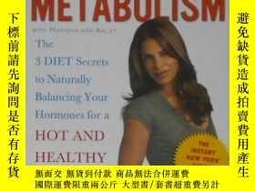 二手書博民逛書店英文原版罕見Master Your Metabolism by