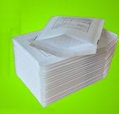 包裝袋白色牛皮紙氣泡信封袋印刷報關單防震抗壓泡沫袋泡泡袋 萬客居