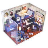 diy小屋手工制作小房子模型別墅拼裝玩具建筑創意生日禮物男女生【免運直出】