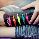 創意智慧懶人一腳蹬鞋帶可調節鬆緊彈性硅膠彩色鞋帶【果果新品】