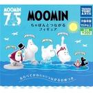 全套5款【日本正版】嚕嚕米 連接公仔 P2 扭蛋 轉蛋 慕敏 MOOMIN TAKARA TOMY - 884672