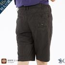 【NST Jeans】衝浪風黑銀印花短褲...