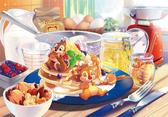 【拼圖總動員 PUZZLE STORY】甜蜜誘惑 日本進口拼圖/Tenyo/奇奇蒂蒂/1000P/環保塑膠