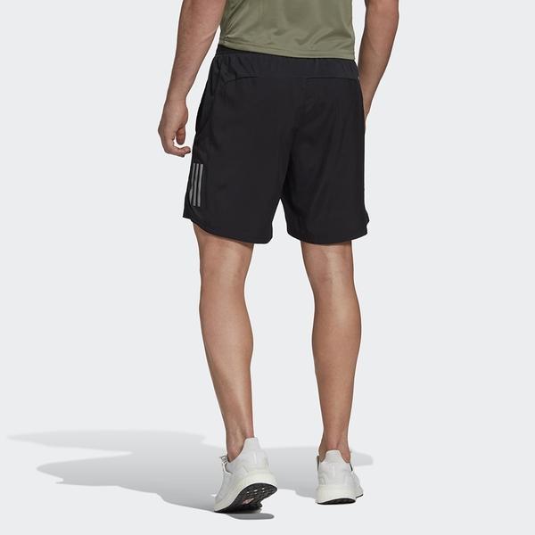 【現貨】ADIDAS OWN THE RUN 男裝 短褲 慢跑 吸濕 排汗 反光細節 黑【運動世界】FS9807