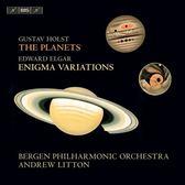 【停看聽音響唱片】【SACD】安德魯.利頓 / 霍爾斯特:行星組曲 / 艾爾加:謎語變奏曲