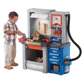 【華森葳兒童教玩具】扮演角系列-Step2 豪華工作臺 A4-706000
