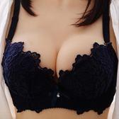 有無鋼圈內衣套裝女文胸聚攏收副乳防下垂性感小胸調整型上托胸罩 優樂居